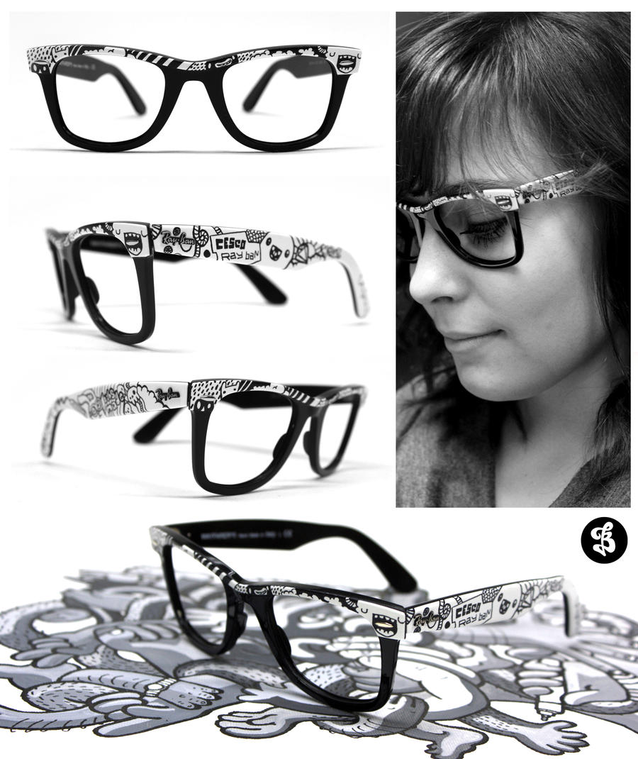 a6d93193327 ray ban glasses girl