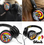 Bow and arrows headphones