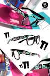 T glasses