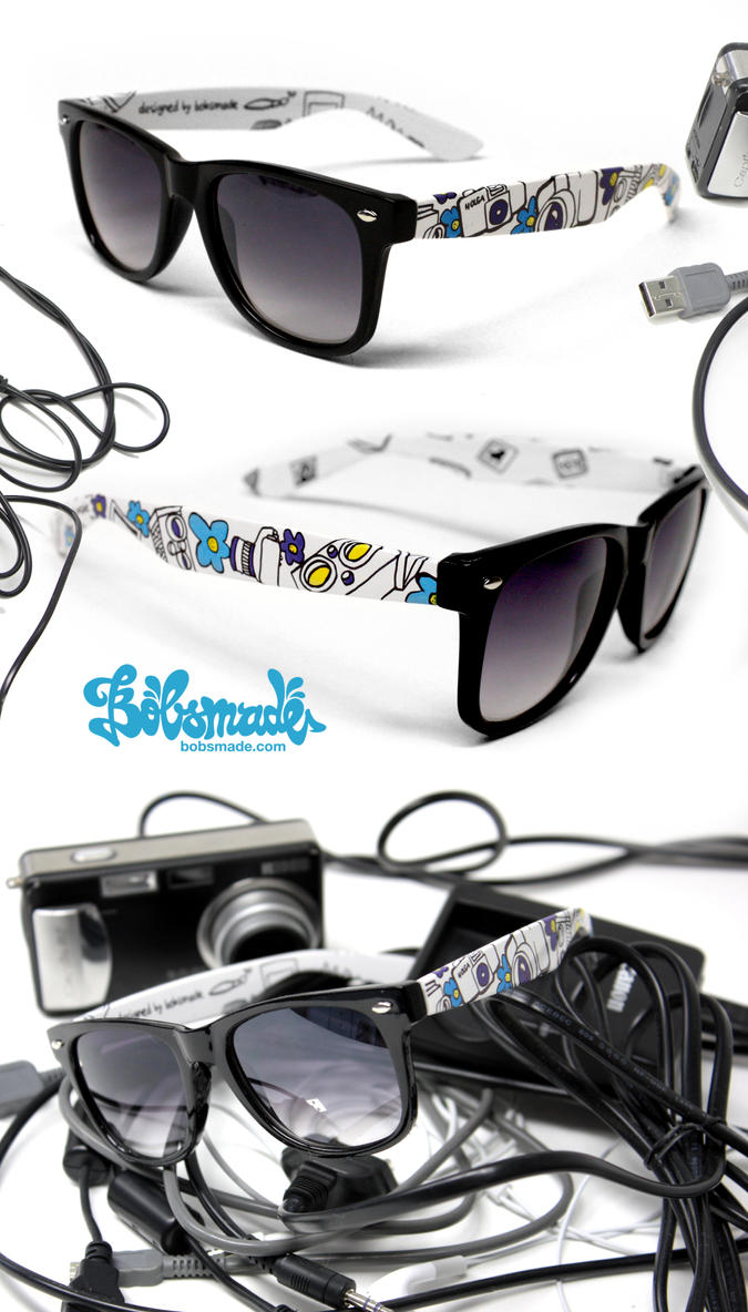 Camera Glasses by Bobsmade