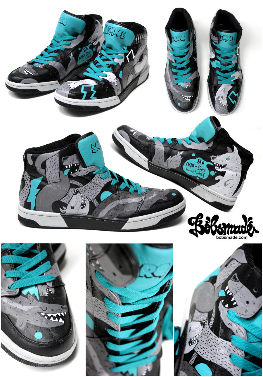 Wolve Sneakers by Bobsmade