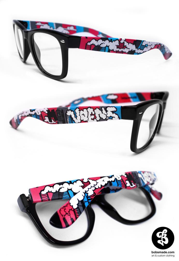 MC Noens Glasses by Bobsmade