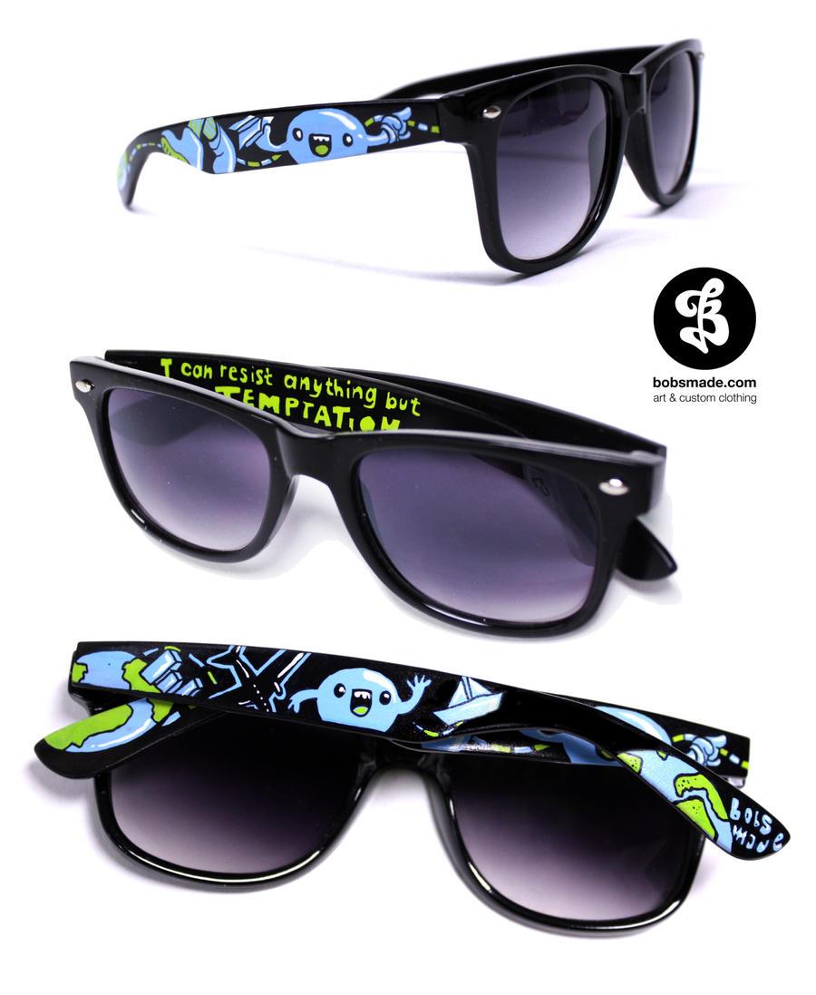 globetrotter glasses by Bobsmade