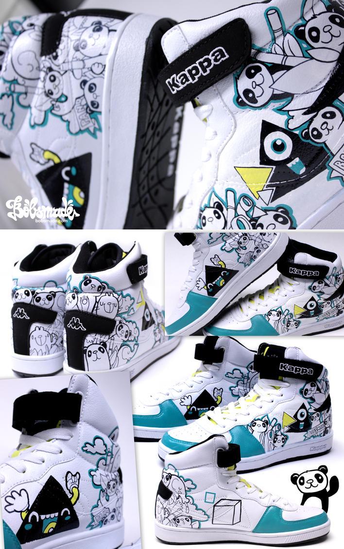 Panda Sneaker by Bobsmade