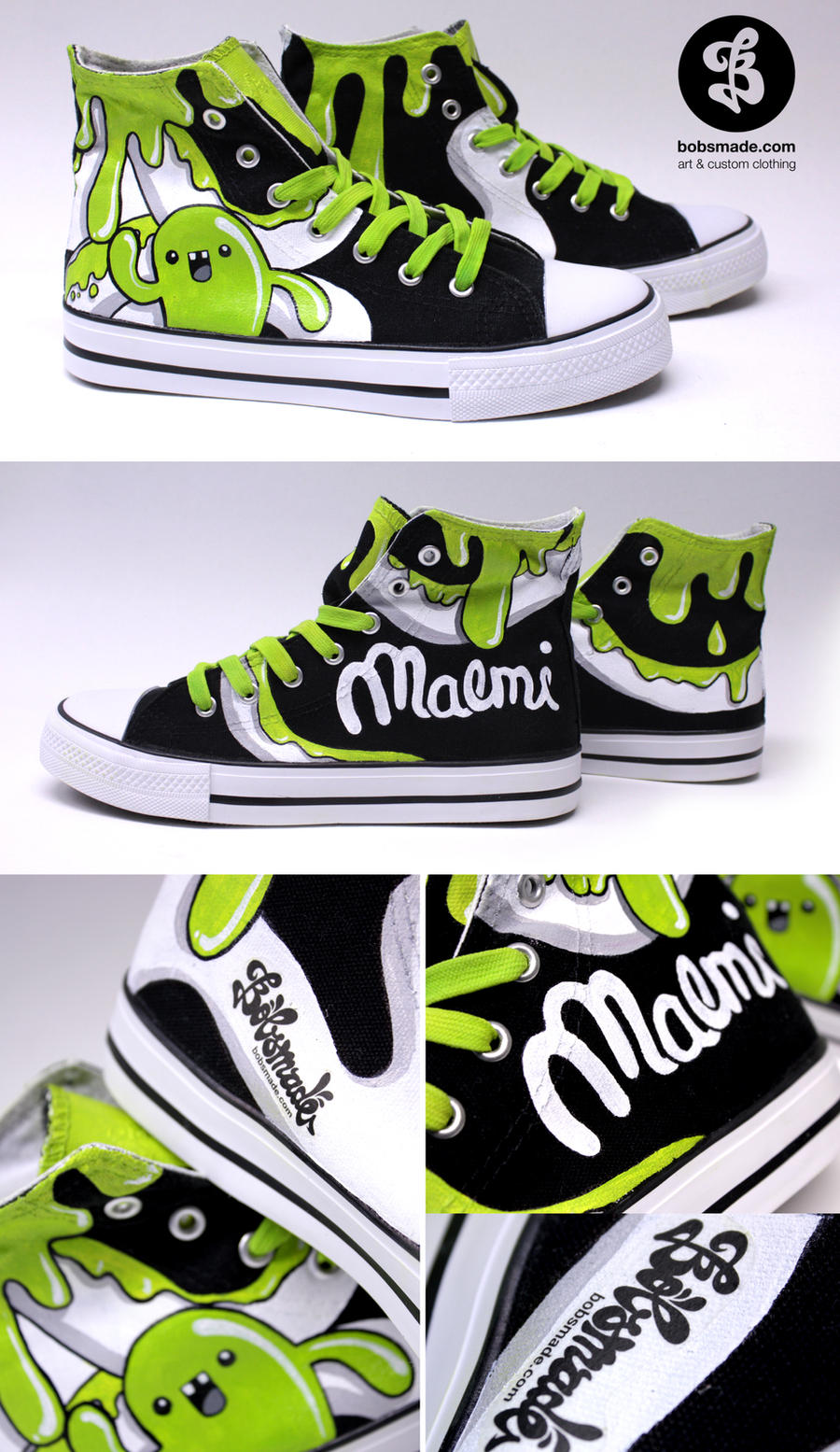 Maemi Chucks by Bobsmade