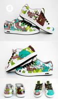 Forest sneaker by Bobsmade
