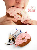 Donut wallet by Bobsmade