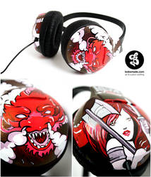 Dragon headphones by Bobsmade