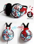 Cute and creepy headphones