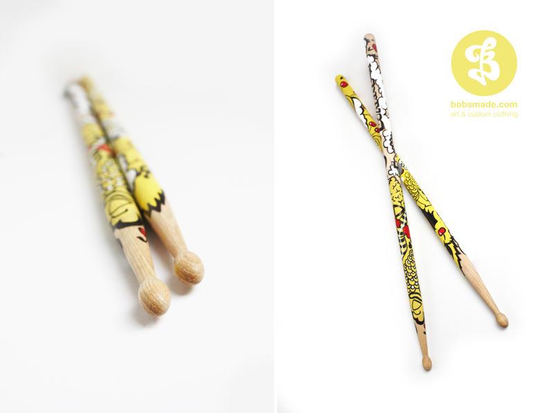 Drumsticks by Bobsmade