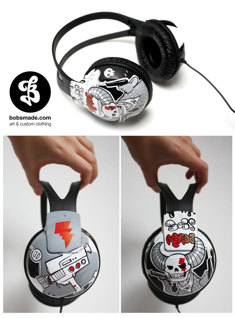 Bang Bang Headphones by Bobsmade