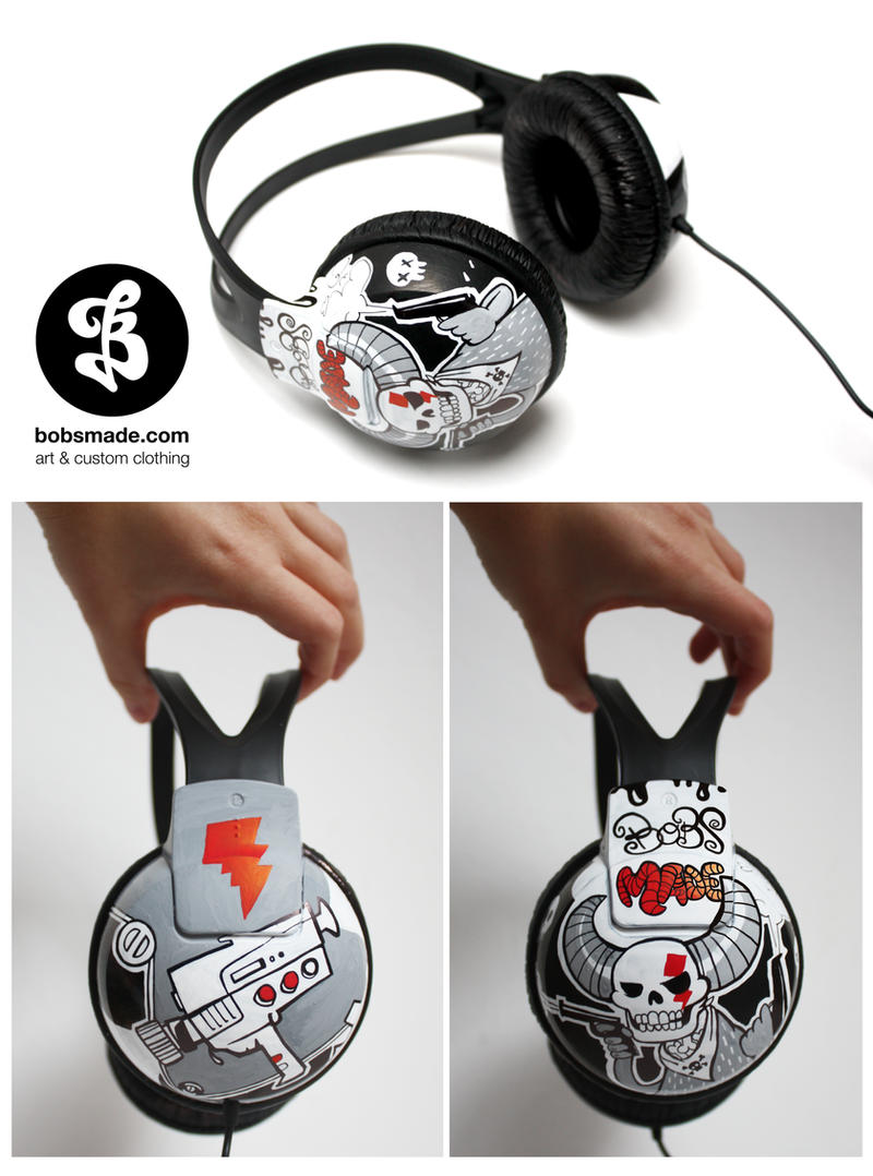 Bang Bang Headphones by Bobsmade