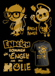 Abi Shirt - Angel out of Hell by Bobsmade