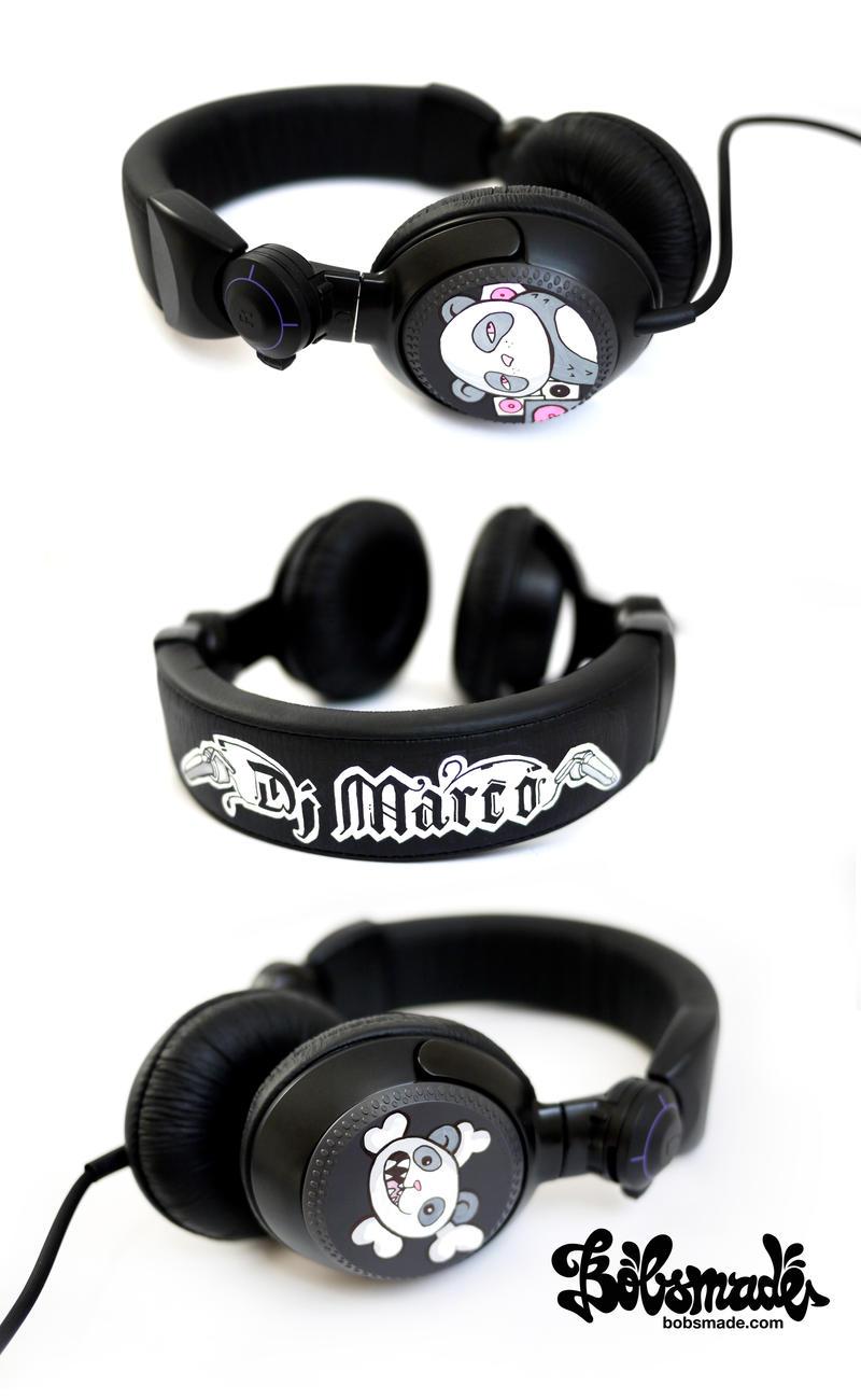 DJ Marco Headphones by Bobsmade