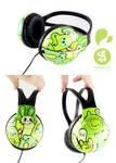 Greeny Headphones