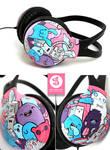 Crazy Club headphones