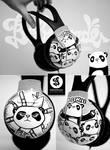 Bad Panda headphons