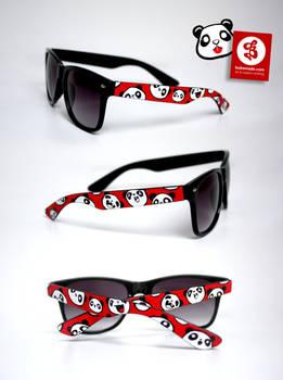 Panda Face Glasses