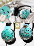 Cute Turtle headphones