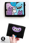 Music monsters wallet