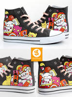 Gaming Kittys Shoes by Bobsmade