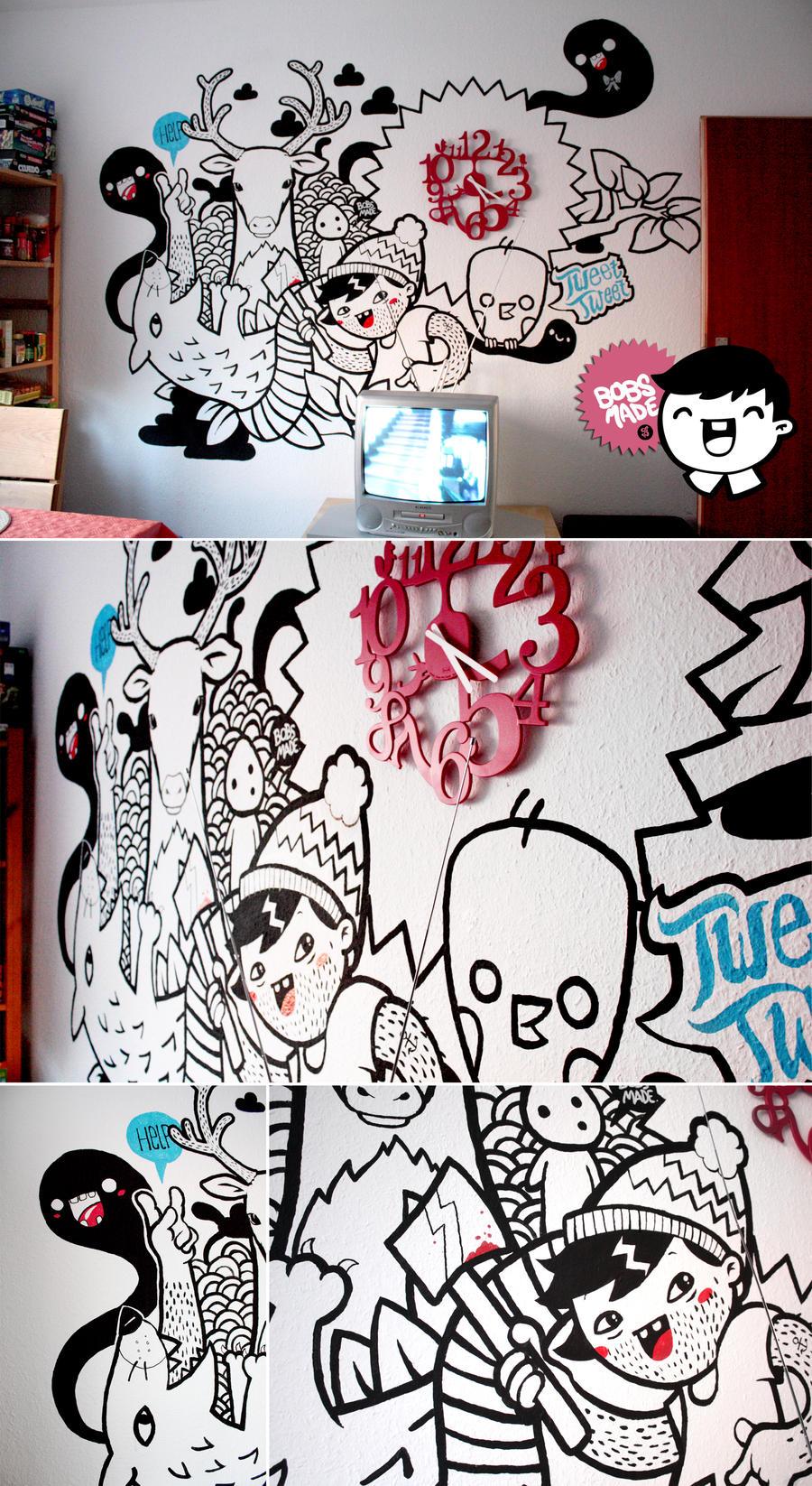 Kitchen Wall Mural Ideas