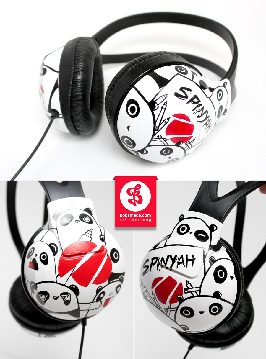 Spinyah Headphones by Bobsmade