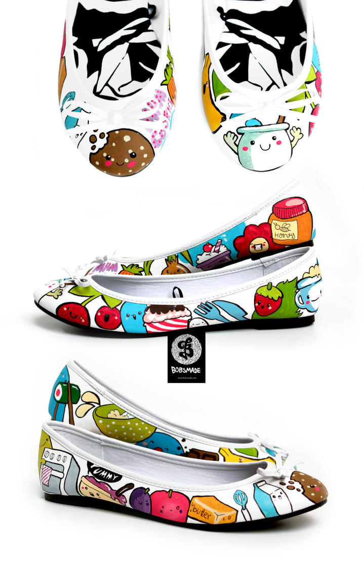 We love Cooking shoes by Bobsmade