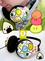 Onigiris and Dangos Headphones