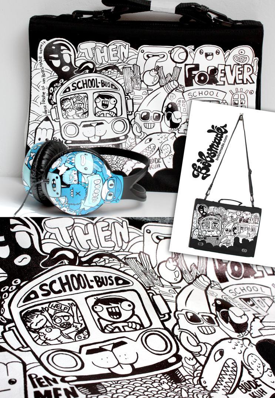 School School Bag by Bobsmade