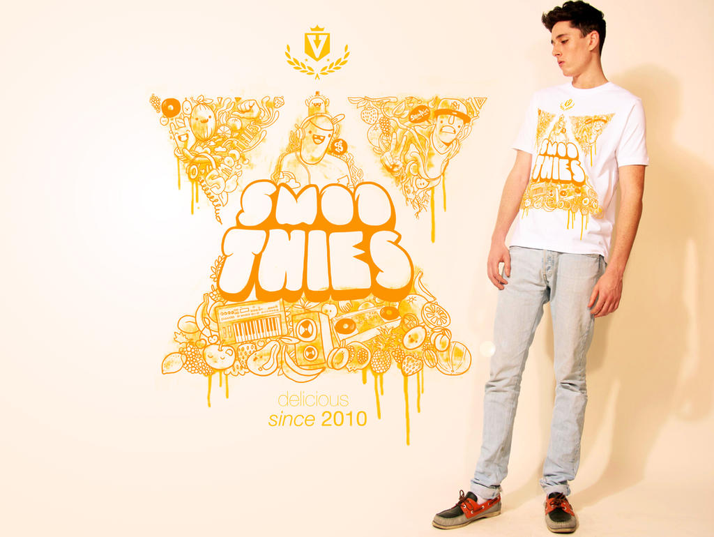 Smooties shirt design by Bobsmade