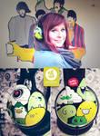 Green Monster Headphones