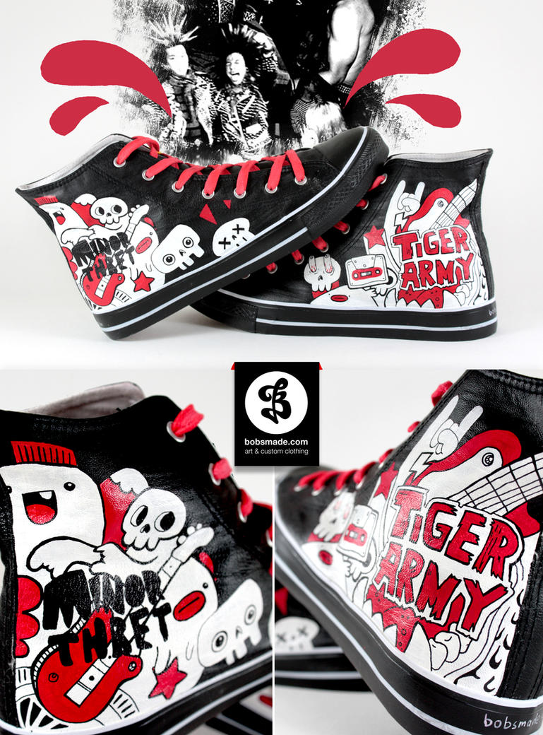 Punk with Funk Shoes by Bobsmade