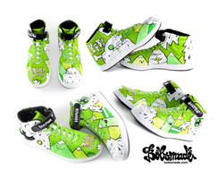 Yeti Sneaker by Bobsmade