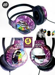Daft Punk Headphones by Bobsmade