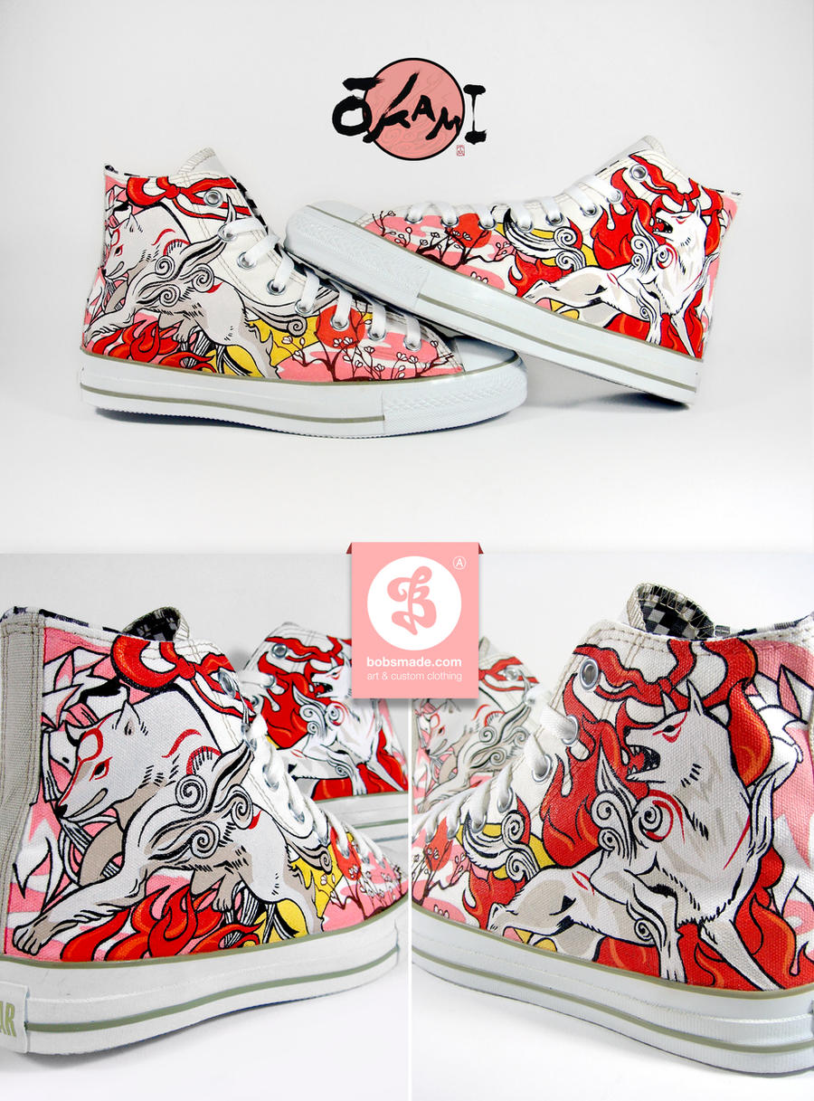 Drawing Vans Shoes