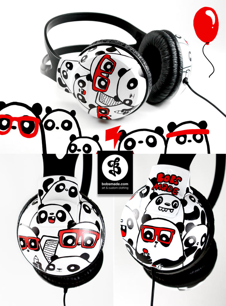 Nerd Panda by Bobsmade