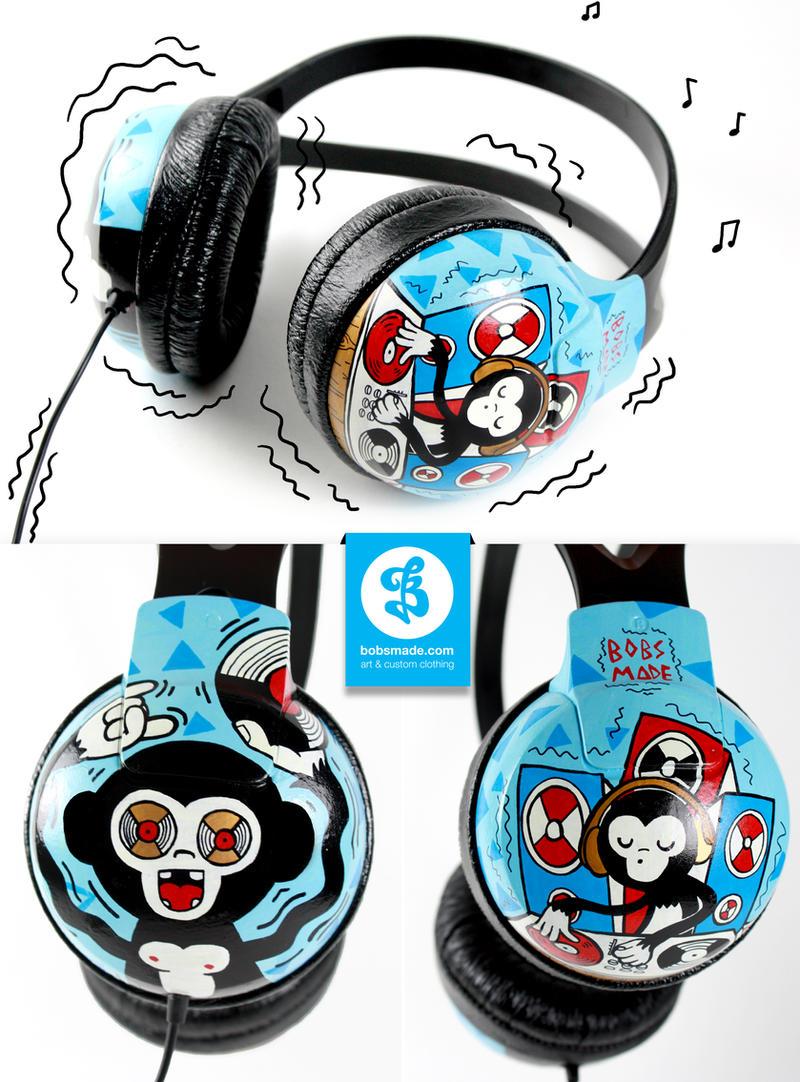 DJ MUNKY headphones by Bobsmade