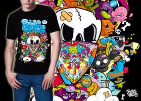 PRiDEorDiE T-shirt Design by Bobsmade
