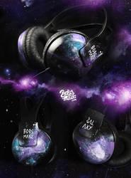 Galaxy Headphones by Bobsmade