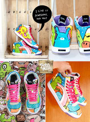Color Flash Sneaker by Bobsmade