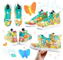 Butterfly Sneakers