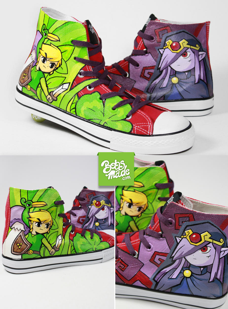 Minish Cap Chucks by Bobsmade