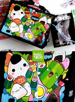 Japan Food Laptop Bag