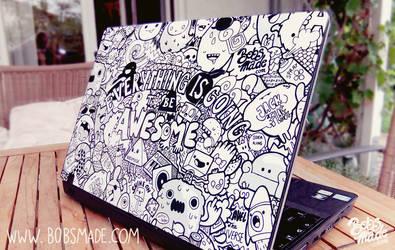 Bobsmade Laptop Skin by Bobsmade