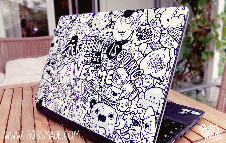 Bobsmade Laptop Skin by Bobsmade