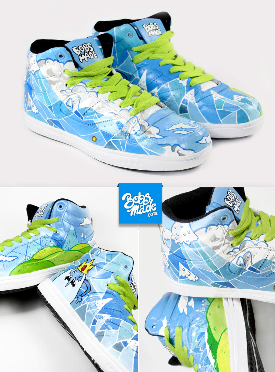 Ice Kingdom Sneaker by Bobsmade