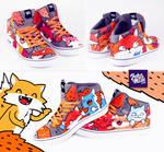 Fox sneaker
