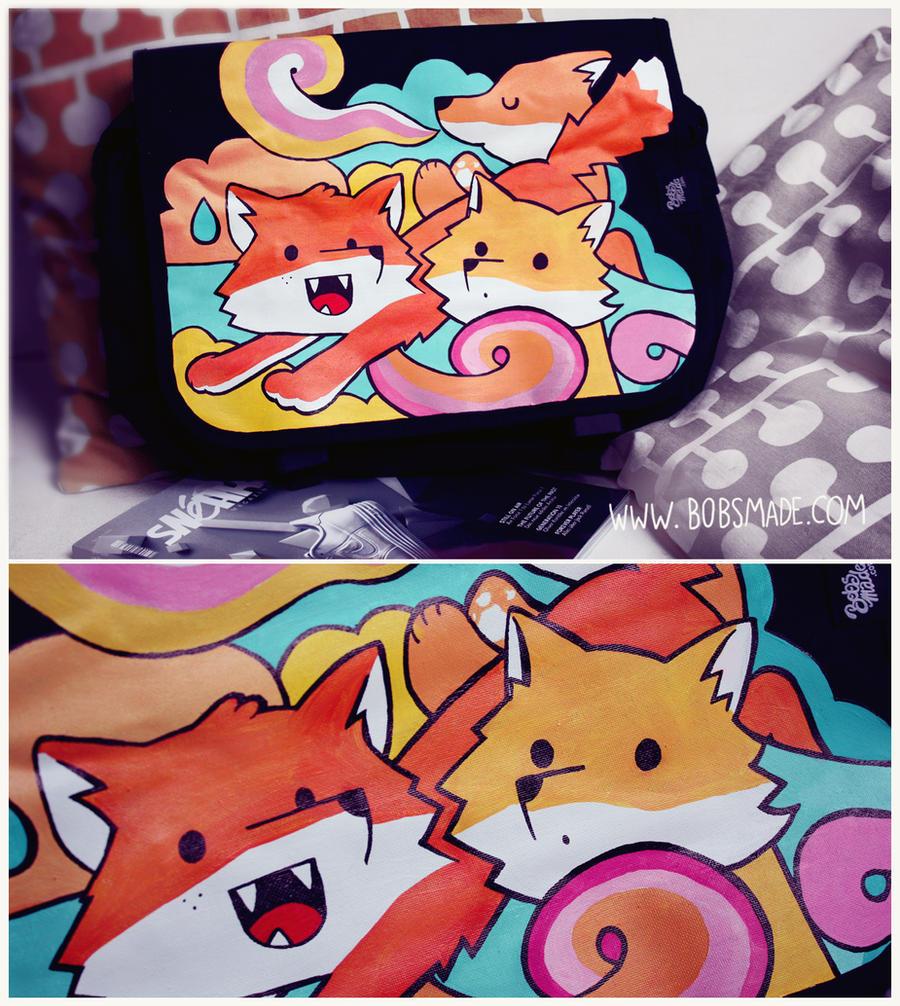 Bobsmade FOX bag by Bobsmade
