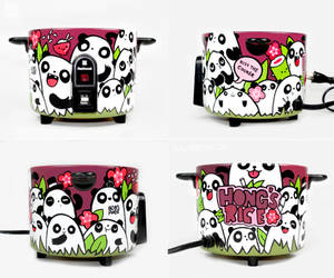 Panda Rice Cooker by Bobsmade